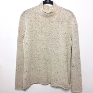 Brooks Brothers Wool Cashmere Speckled Sweater